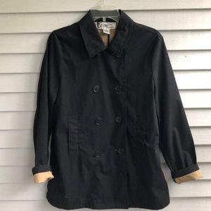 Oleg Cassini Jackets & Coats - Oleg Cassini Black utility/rain coat.